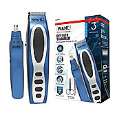 Wahl 5598-1517 Rechargeable Definer Trimmer Gift Set - Blue