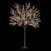 Snowtime 2-Size Globe Tree - Warm White - 220 cm H