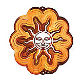 Iron Stop Small Copper Sun Classic Wind Spinner 6in