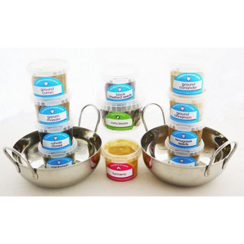 Complete Indian Cooking Kit