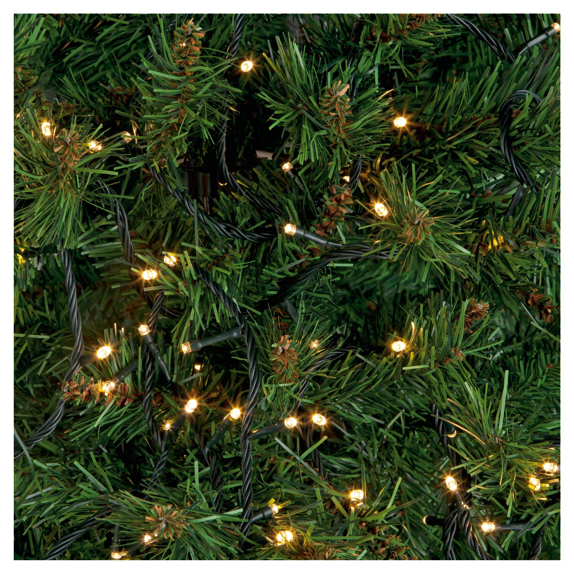 Tesco 300 Led Clear Multi-function Christmas Lights