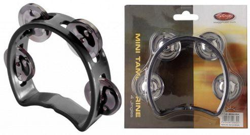 Stagg Mini Tambourine - Black