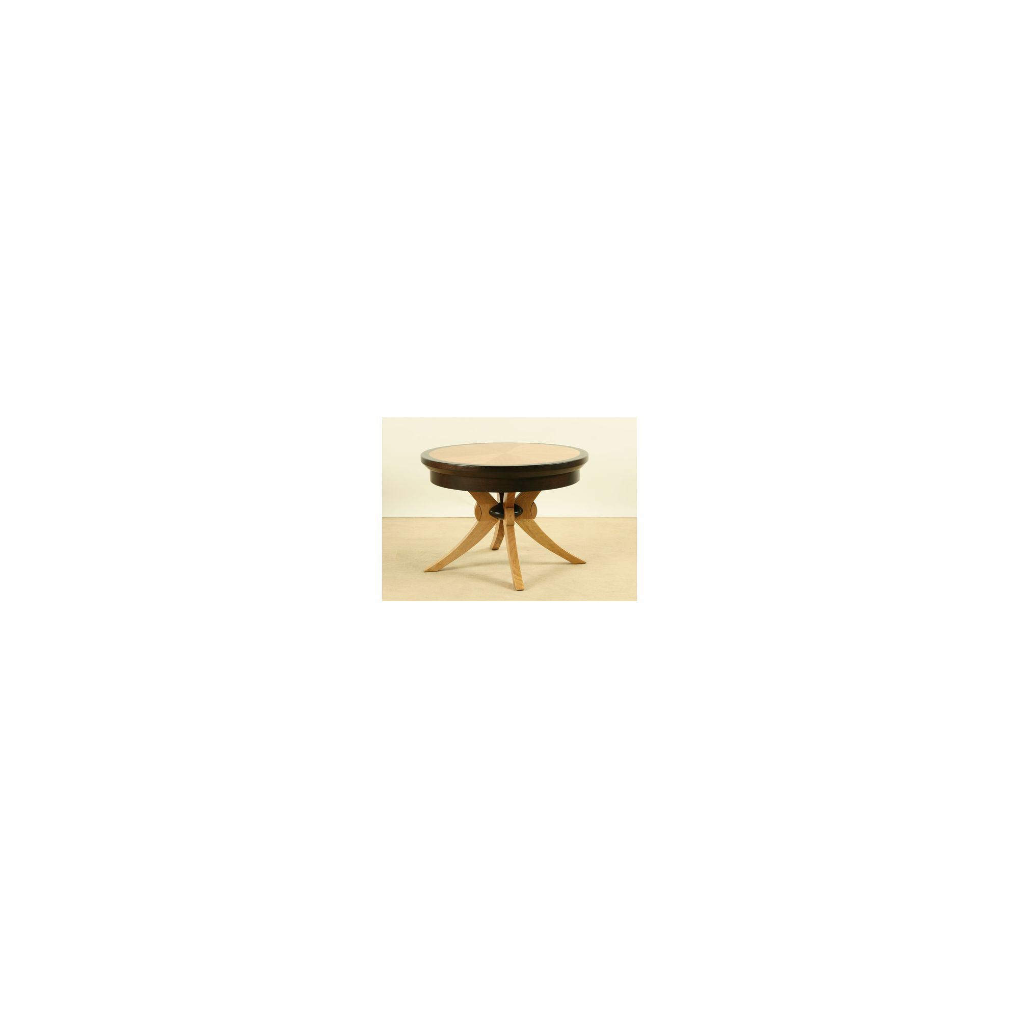 Wildwood Loanne Round Lamp Table in Solid Eucalyptus at Tescos Direct