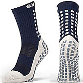Trusox Mid-Calf Sock Thin - Blue