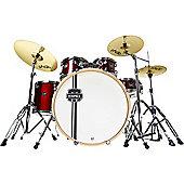 Mapex Horizon II Drum Kit with Paiste Cymbals -Burgundy