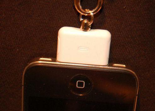 U-bop ClickLOCK - Apple iPhone Charging Port Connector Holder - White