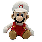 "Official Nintendo Super Mario Plush Series Stuffed Toy - 9"" Fire Mario"