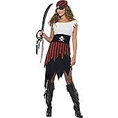 Adult Pirate Wench Costume Medium