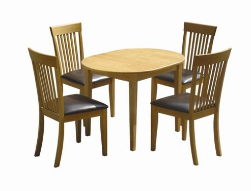 Home Zone Somerset Extendable 5 Piece Dining Set