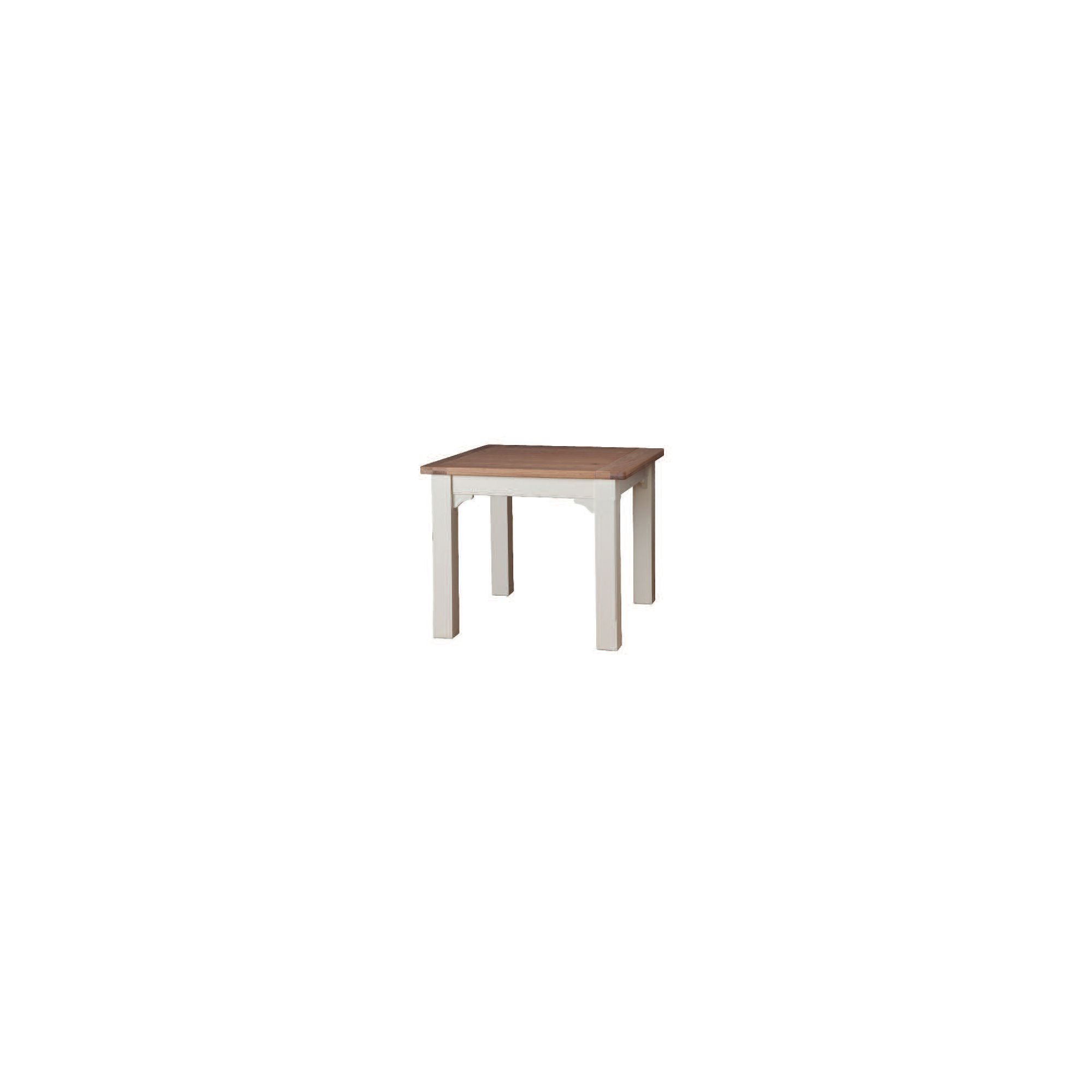 Wilkinson Furniture Buttermere Solid Oak Dining Table in Ivory