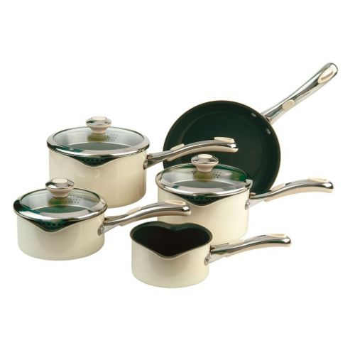 Meyer Select Advantage Non-Stick 5 Piece Pan Set in Almond