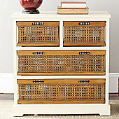 Safavieh Daytona 4 Drawer Storage Unit - Cream