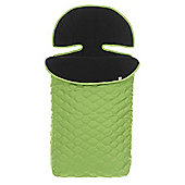 OBaby ZuZu Quilted Footmuff (Lime)