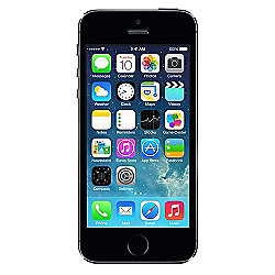 Tesco Mobile Apple iPhone 5S 16GB iOS7 - Space Grey