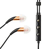 KLIPSCH IMAGE X10I IN EAR HEADSET WITH MIC AND 3 BUTTON REMOTE