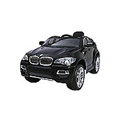 BMW X6 - Licensed 12v Electric Ride on Jeep - Black