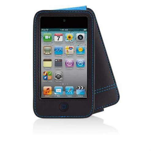 Belkin F8Z673CW Verve Folio for iPod Touch - Black and Blue.