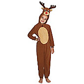 F&F Light-Up Reindeer Dress-Up Costume - Brown