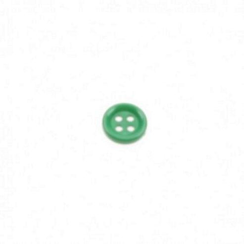 Dill Buttons 13mm Round - Dark Green