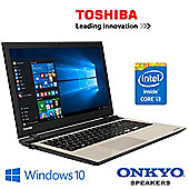 "Toshiba Satellite L50-C-1XN 15.6"" Laptop Intel Core i3 5005U 8GB RAM 1TB HDD"