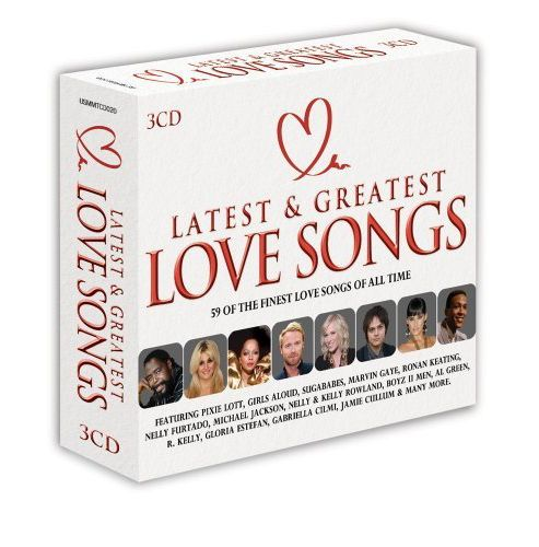 Latest And Greatest Love Songs 3Cd