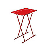 Multi-Purpose Table & Stool Set Red
