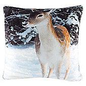 Whitstable Xmas Deer Cushion