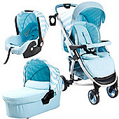 My Babiie Billie Faiers MB100+ Travel System (Blue Stripes)