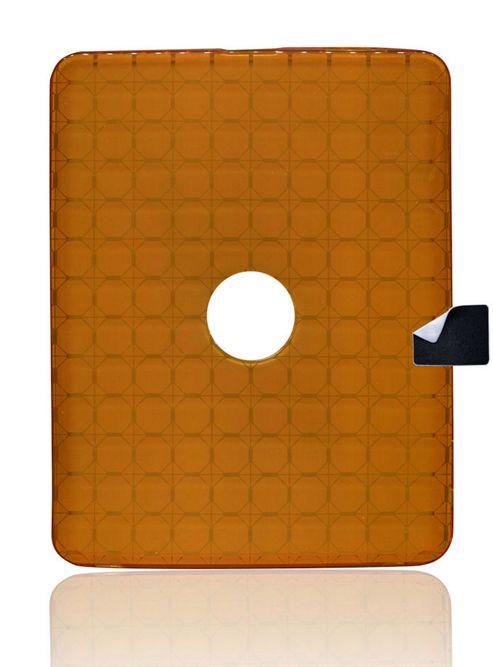 U-bop gSHELL Tough All-Body Case and StampWIPE Smoke Orange - For Apple iPad 2