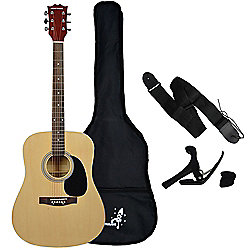 Rocket XF Series 4/4 Dreadnought Acoustic Guitar