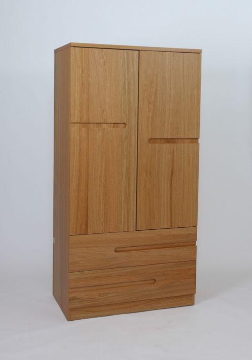 Urbane Designs Samba 2 Door 2 Drawer Wardrobe