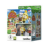 Animal Crossing Festival, 2 amiibo, 3 cards Wii U