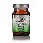 FSC Hawthorn 500mg Tablets