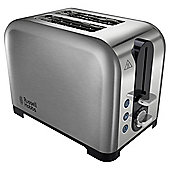 Russell Hobbs Canterbury 22390 2 Slice Toaster - Stainless Steel