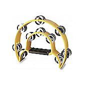 A-Star TAB-1 Cutaway Tambourine - Yellow
