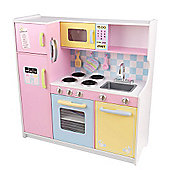 KidKraft Large Pastel Pretend Play Kitchen