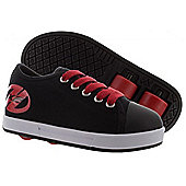 Heelys Fresh Black/Red Kids HX2 Heely Shoe - Black