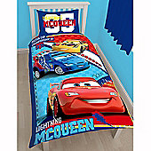 Disney Cars Piston Single Duvet Cover and Pillowcase Set