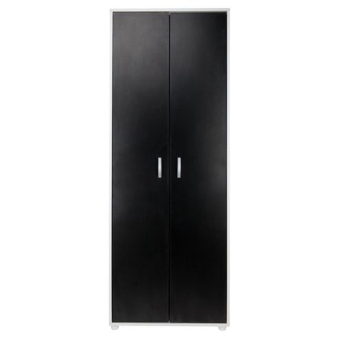 Reno 2 Door Wardrobe, White/Black