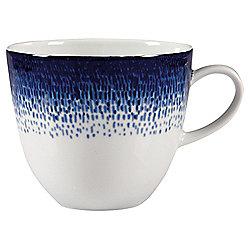 Blue Rain  Porcelain Mug