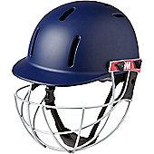 GM Purist Geo Cricket Helmet - Blue