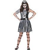 Ghost Ship Pirate Girl - Child Costume 9-10 years