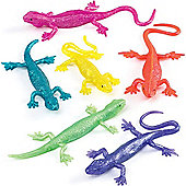 Party Bag Stretchy Lizards (Pack of 8)