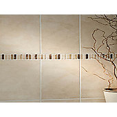 Dartmoor Natural Marble Beige Border 305x48mm