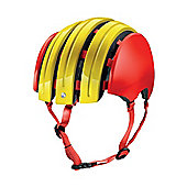 Carrera E00465 GTE Flag Folding Helmet Spanish Flag Small Medium 55-58cm