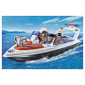 Playmobil Coast Guard Speedboat 5625