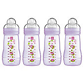 MAM Baby Bottle 270ml 4pk Pink