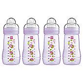 MAM Baby Bottle 270ml 4pk Pink