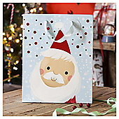 Chilly Santa Christmas Gift Bag, Large