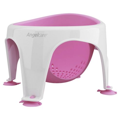 buy angelcare baby bath seat pink from our bath seats supports range tesco. Black Bedroom Furniture Sets. Home Design Ideas